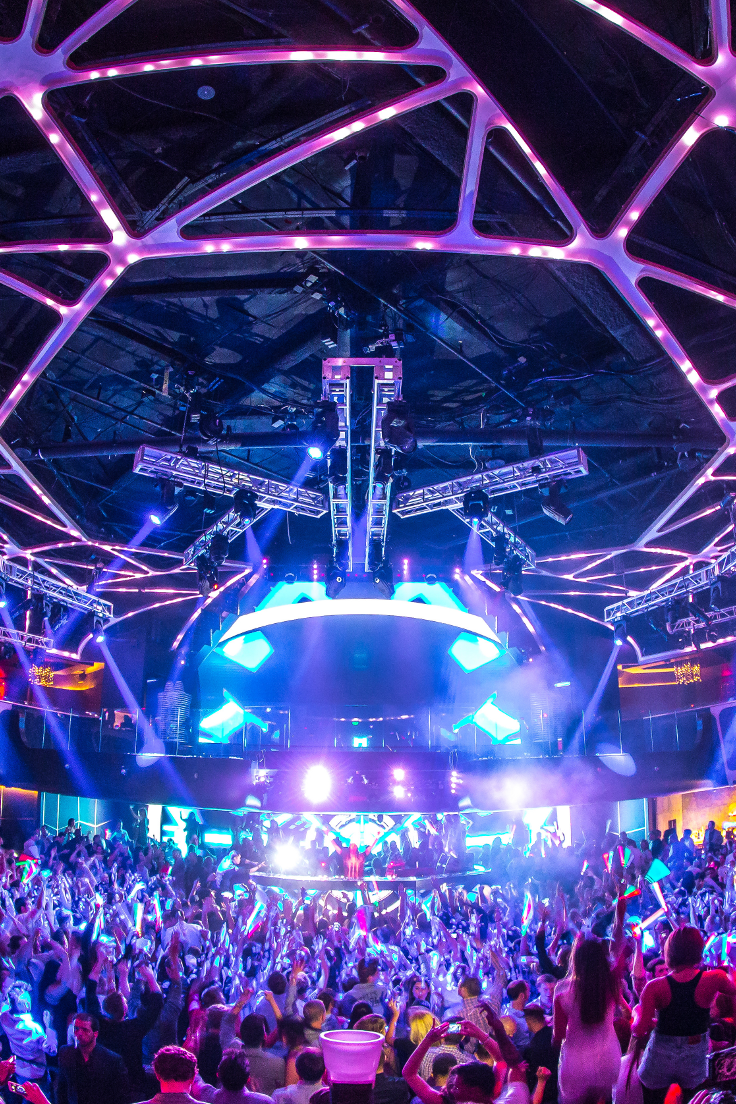 Some of the most popular DJs in the world call Hakkasan