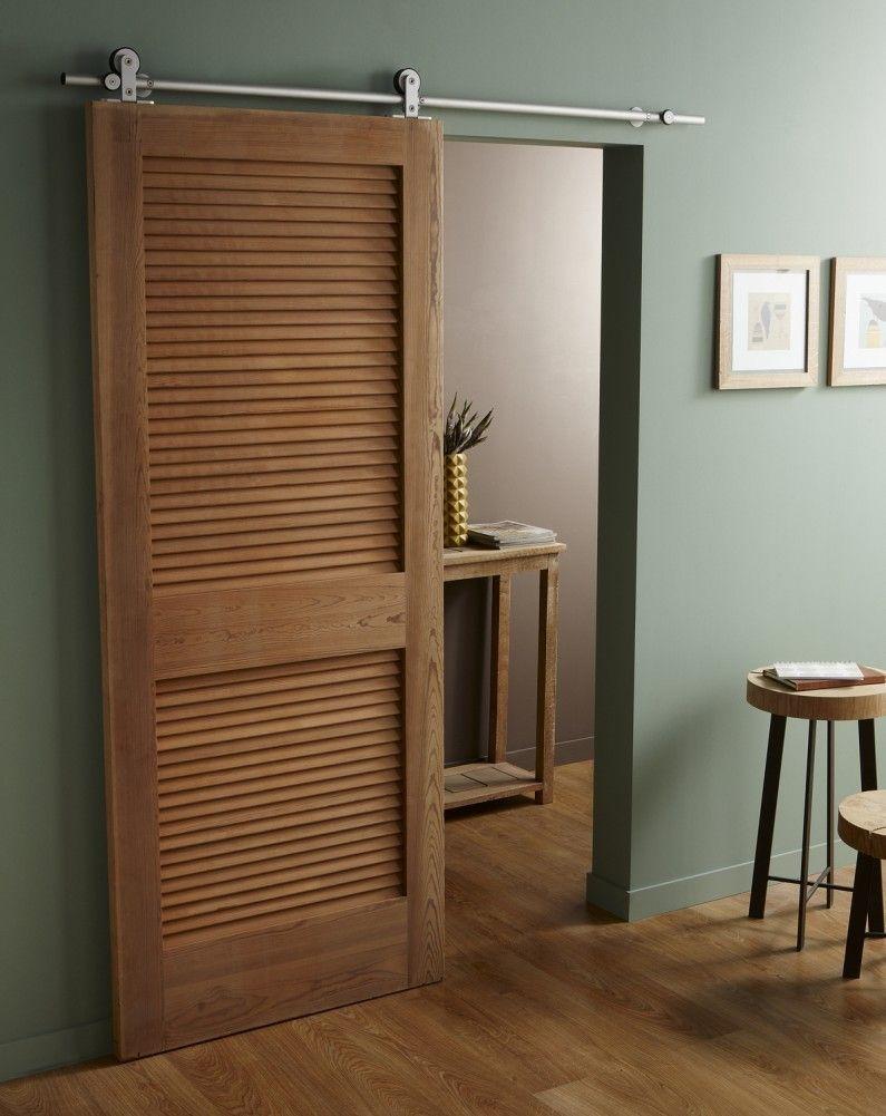 la porte coulissante pratique et d co salle de bain. Black Bedroom Furniture Sets. Home Design Ideas