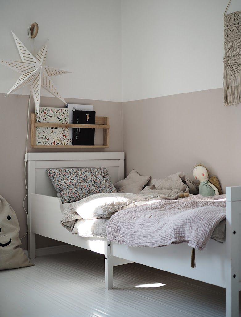Mädchenzimmer Stoffe in zarten Farben Zimmer