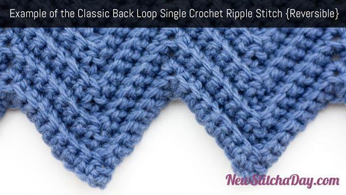 Crochet Ripple Pattern Edging Google Search Knit N Crochet