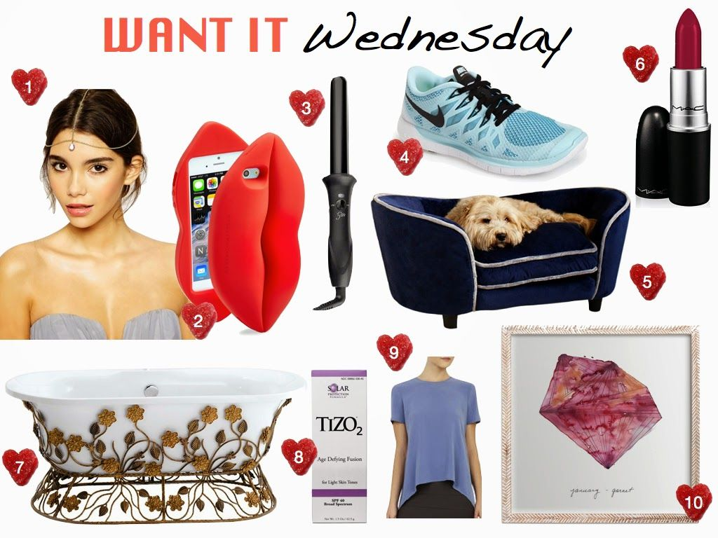It's Want it Wednesday! Check out what we're currently coveting and shop it for yourself.