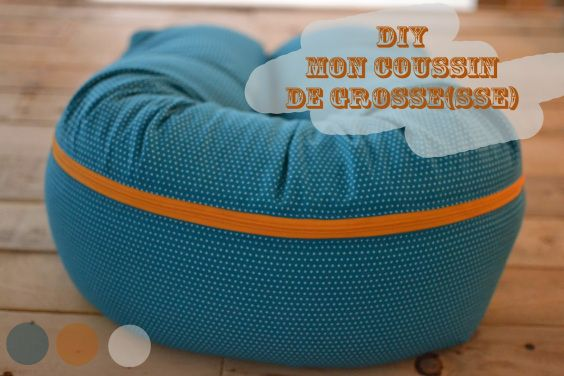 DIY Coussin de grosse(sse)