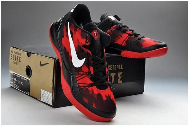 55f17db90f0c http   www.asneakers4u.com Nike Kobe 8 VIII Elite Black Red White ...