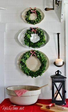 Image result for christian farmhouse white decoration christmas