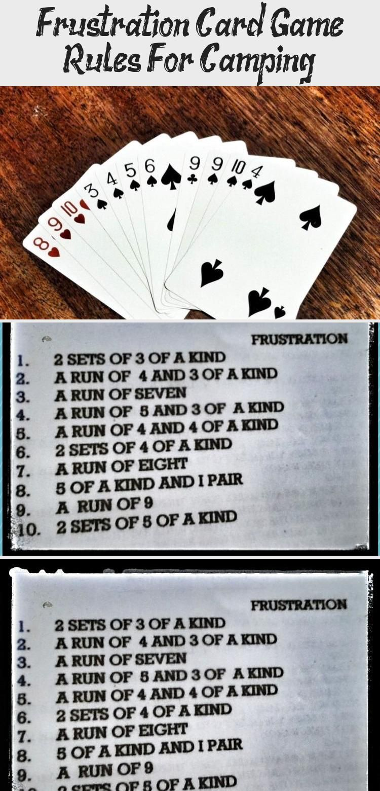rules games frustration gambling card