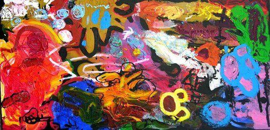 40d79772b Ocean ~ Marla Olmstead (child artist) | Abstract & Non~objective Art ...