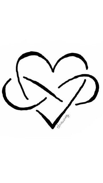 Infinity Love Cute Drawings Of Love Easy Love Drawings Cute