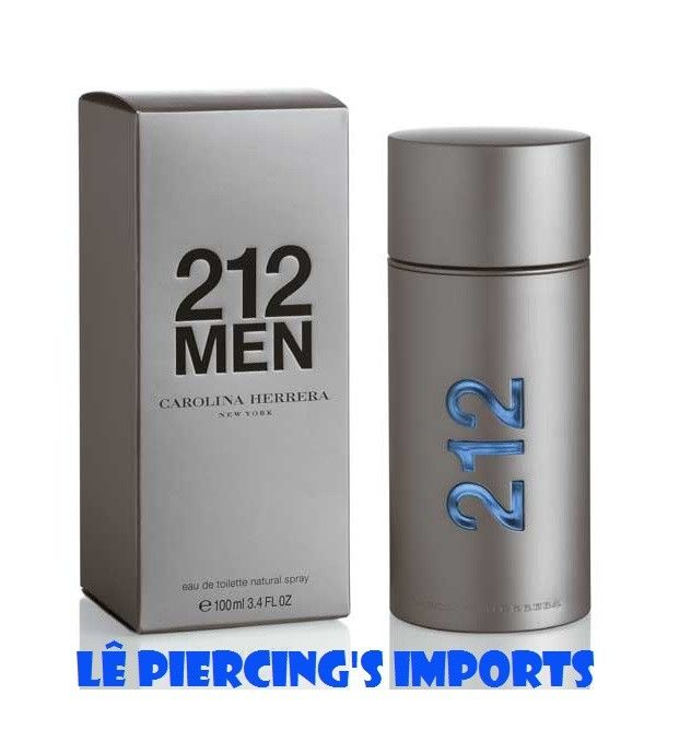 8c87c96a69c Perfume 212 Men NYC Masculino 100ml Eau de Toilette Carolina Herrera ...