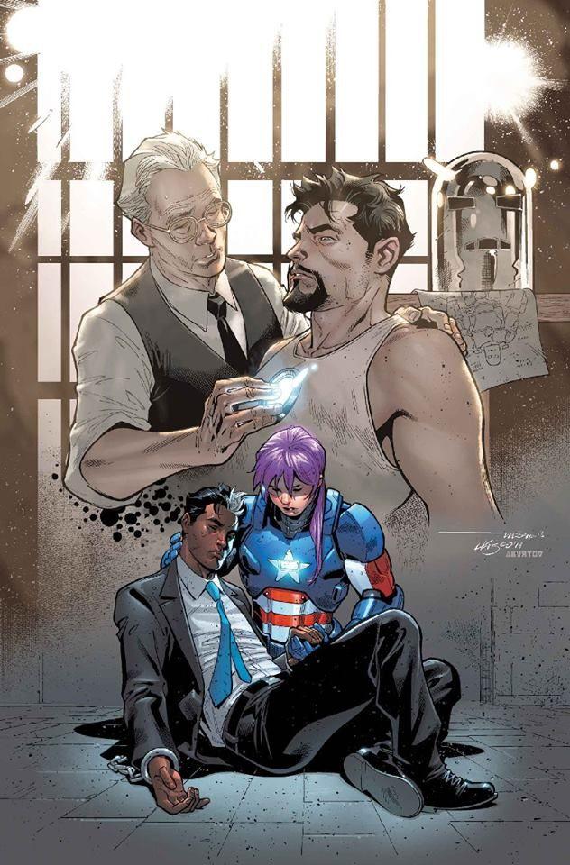 U.S. Avenger by Paco Medina