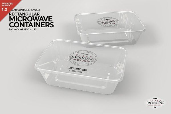 Download Free Psd Mockup Microwave Containers Packagingmockup Psd Mockup Clear Container Packaging Mockup Microwavable Containers