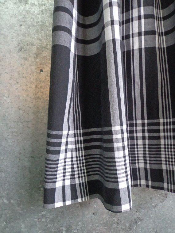 Black and White Plaid Skirt Pendleton Size 4 24 by vintageomaha, $18.00