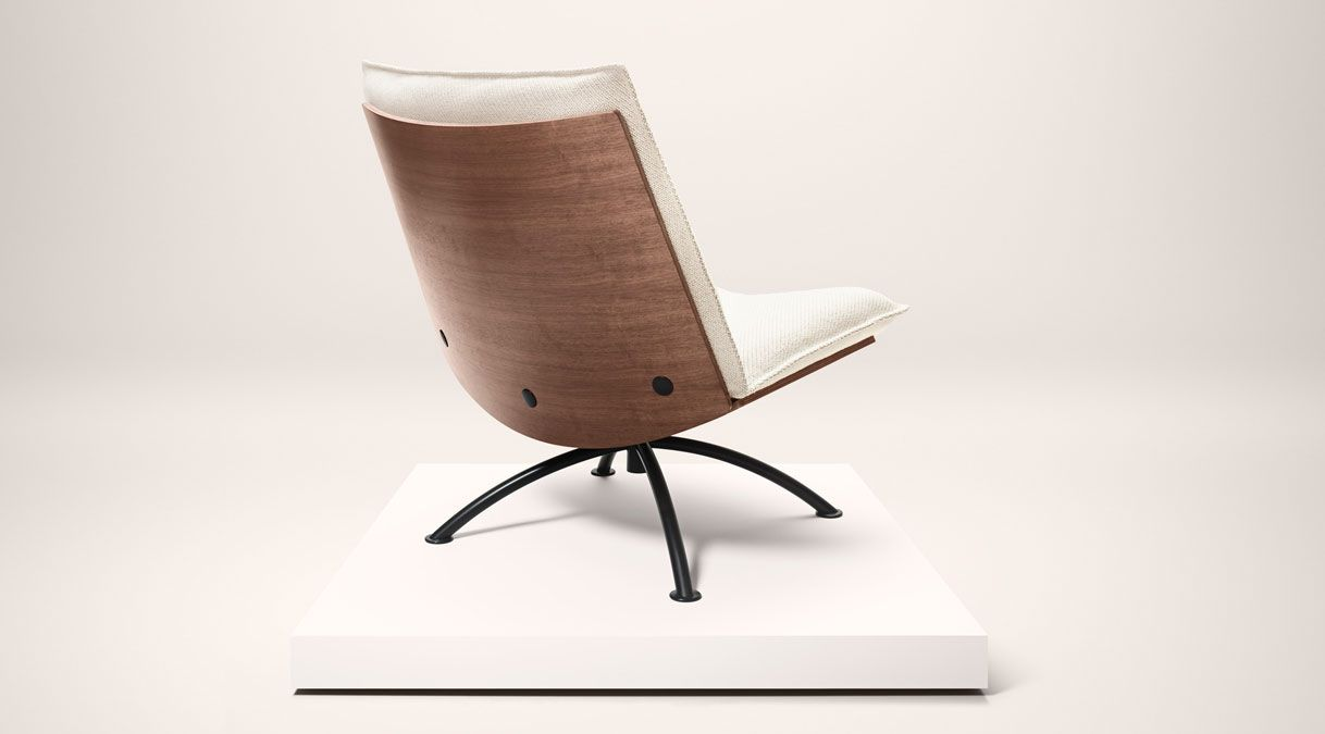 Prime Time Lounge Chair By Fredericia