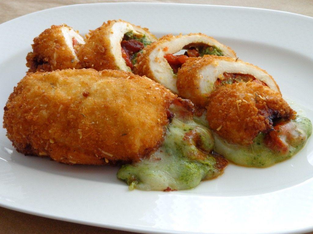 Pollo Tricolore - Stuffed Chicken Breast