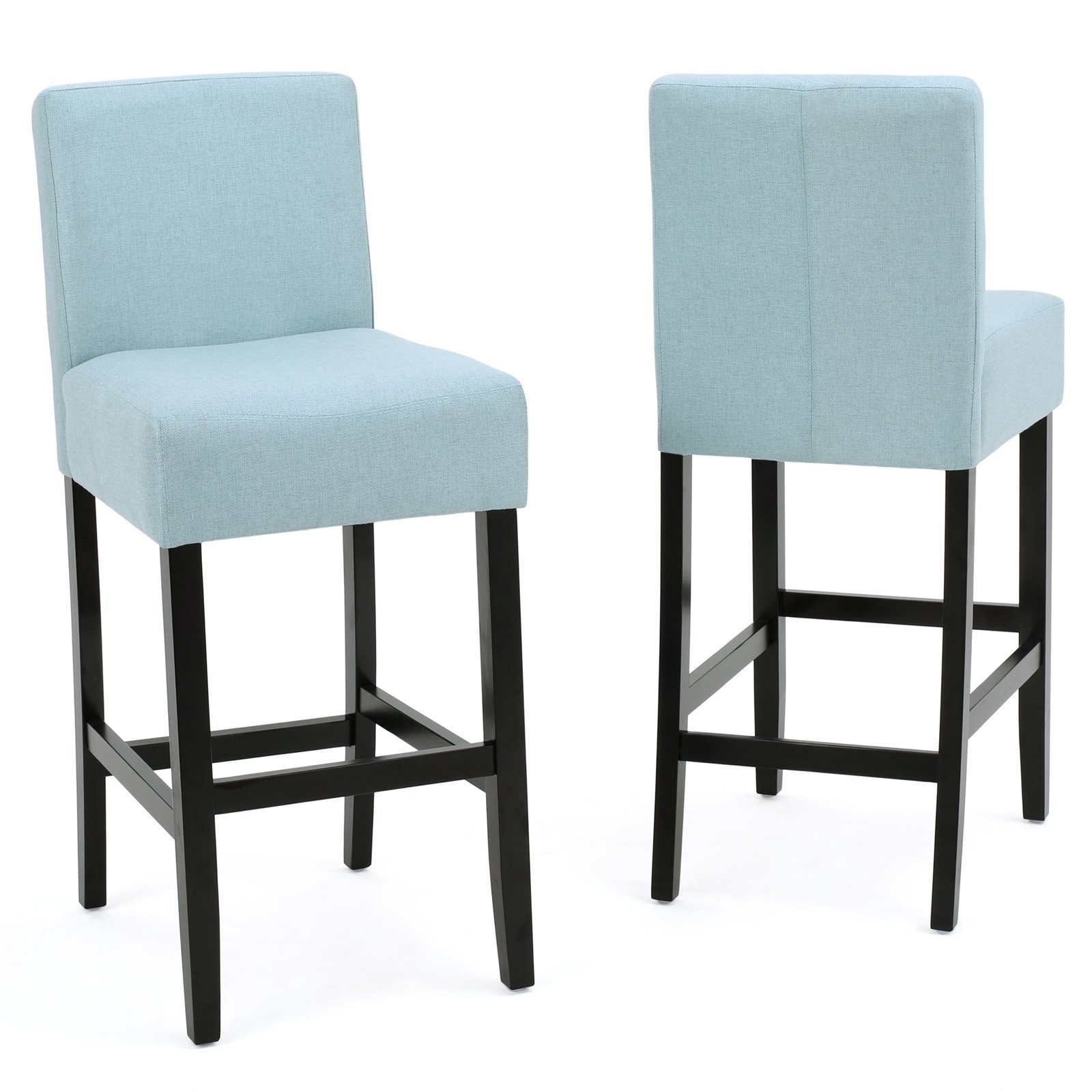 8af7a501083 Ligan Upholstered Counter Stool - Set of 2 Beige in 2019