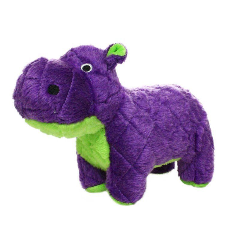 Mighty Safari Hippo Durable Dog Toy Mtjr S Hippo Pl Durable