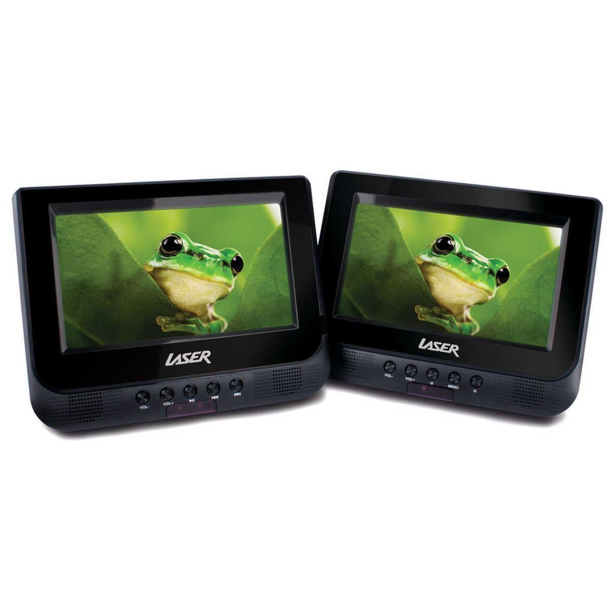 Laser Dual In Car Dvd Player 7 Lcd Big W Portable Dvd