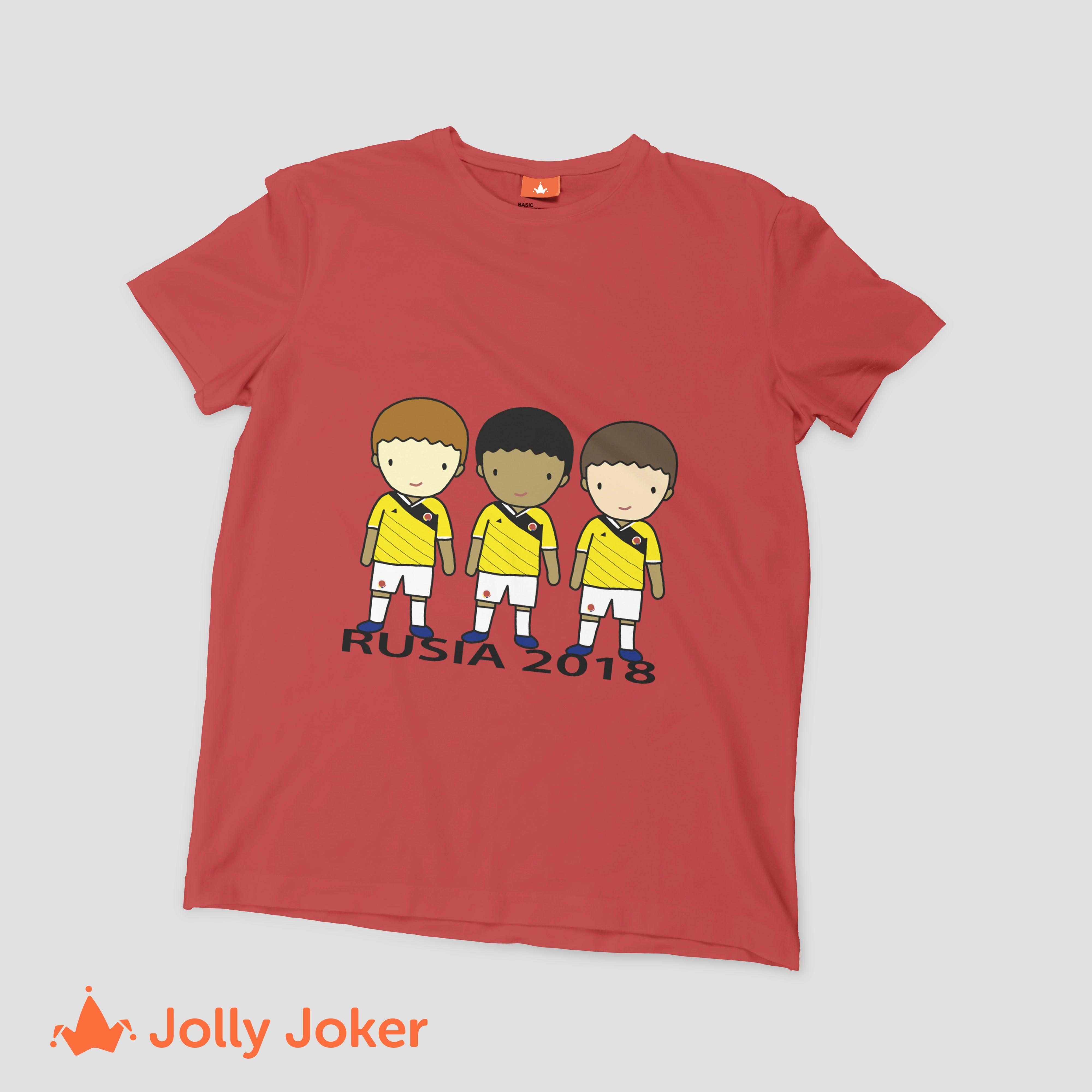 Para el mundial de Rusia puedes diseñar las mejores camisetas para tu grupo  de amigos o 249952a72f22a