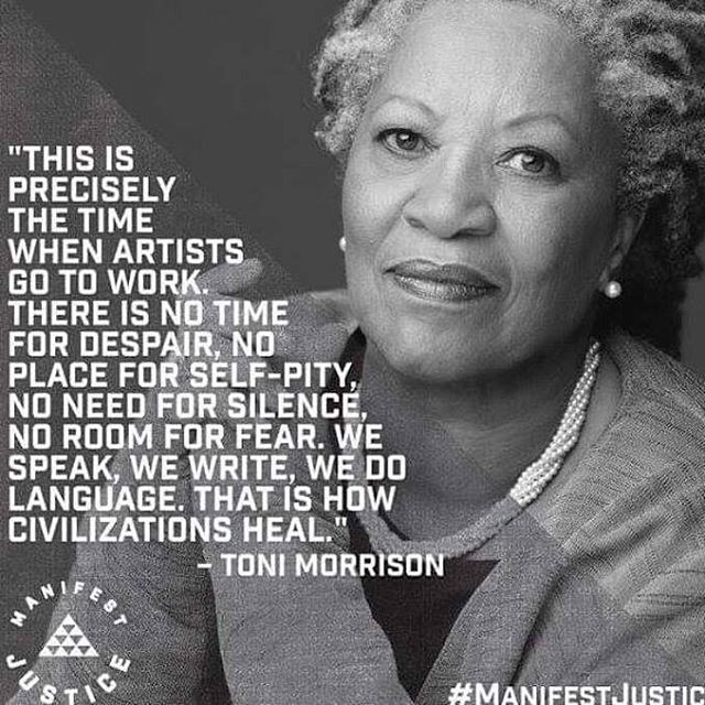 Toni Morrison Quotes Amazing Today We Feel As Artists & Activists That Toni Morrison's .