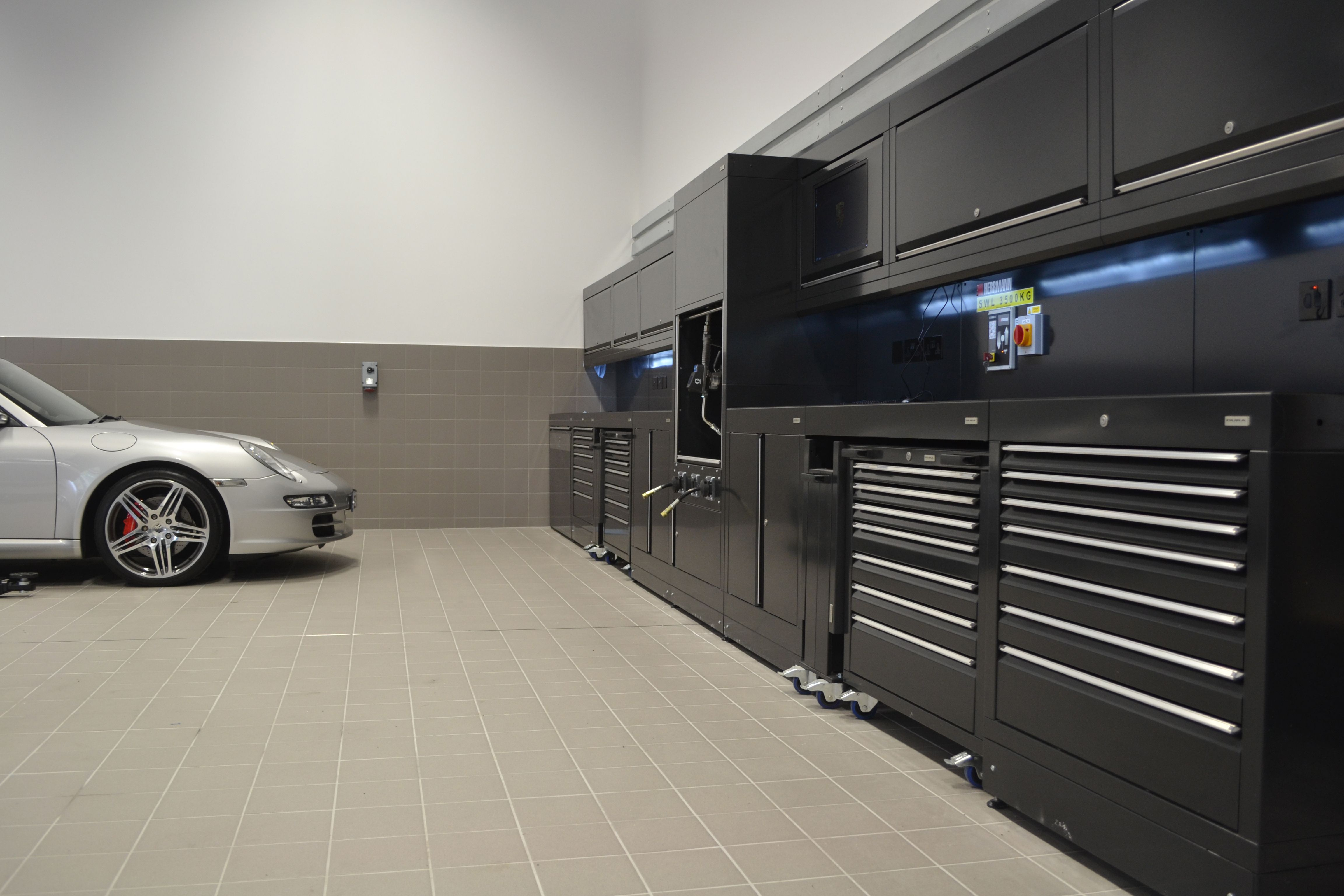 Our Porsche project in Tewkesbury, Gloucestershire, UK