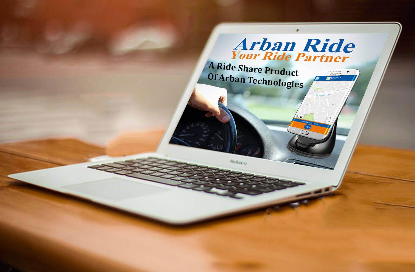 arban technologies a rideshare mobile app development