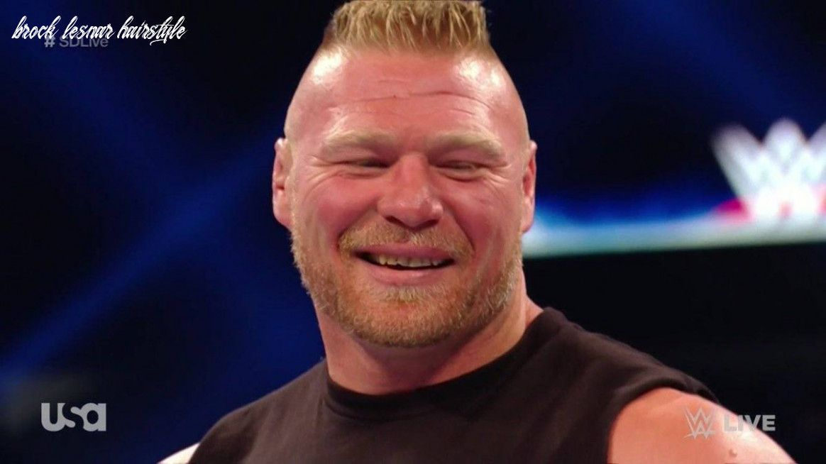 9 Brock Lesnar Hairstyle In 2020 Brock Lesnar Wrestling News Hairstyle