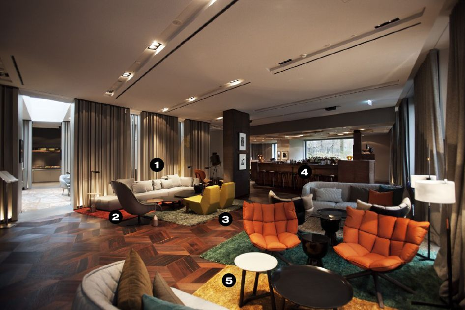 Urbanspace interiors get this look das stue hotel berlin for Berlino hotel design