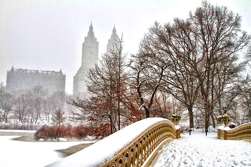 Bow Bridge, Central Park ... Uno de mis sitios favoritos del mundo mundial