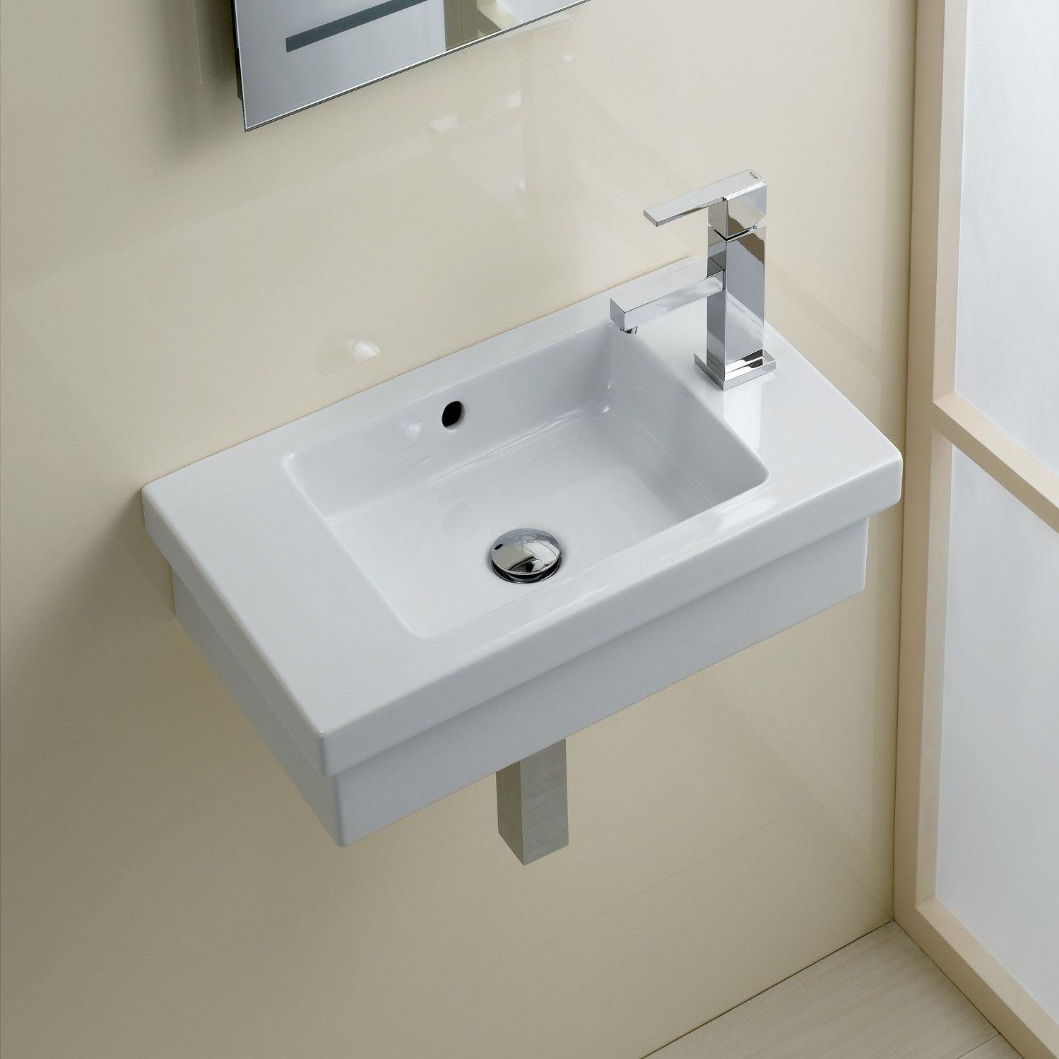 Bissonnet Area Boutique Logic 45 Ceramic Bathroom Sink & Reviews Inspiration Wayfair Bathroom Sinks Design Inspiration