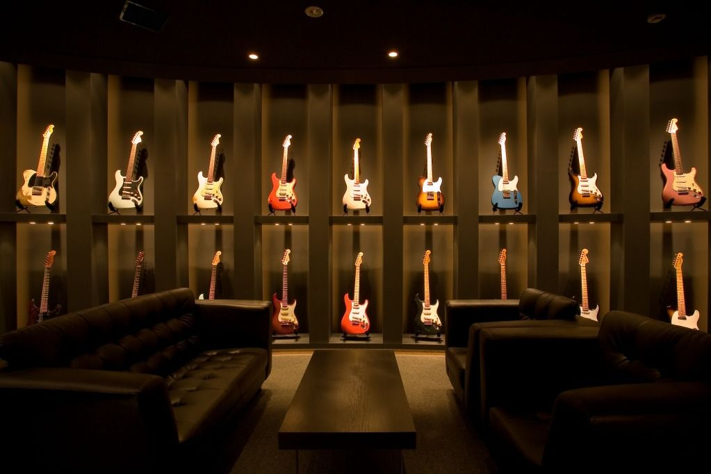 guitar rooms need ideas and pics page 62 the gear page guitars guitars guitars. Black Bedroom Furniture Sets. Home Design Ideas