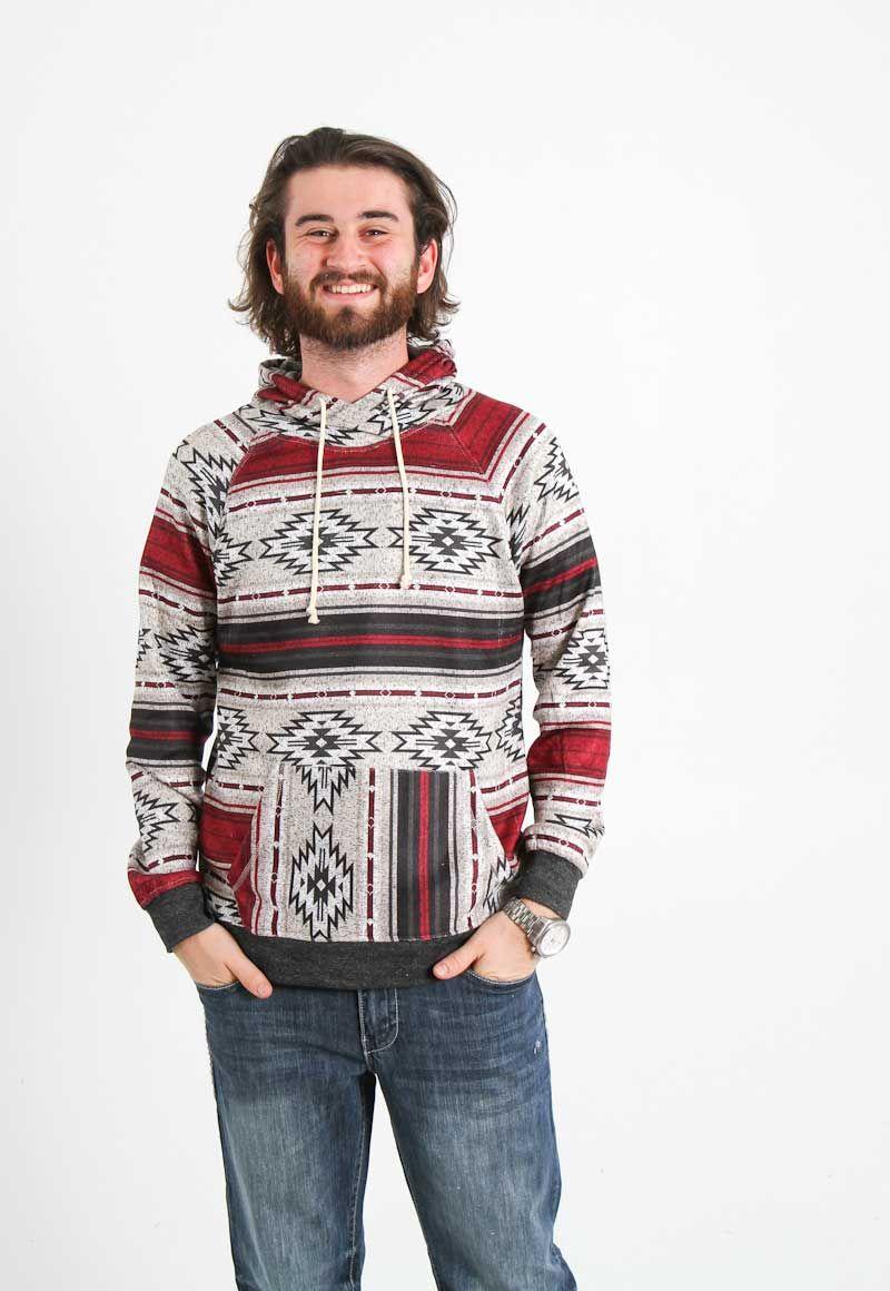 1617b67fcf Brooklyn Cloth Cozy Knit Hoodie for Men in Oatmeal BHM2343-OAT ...