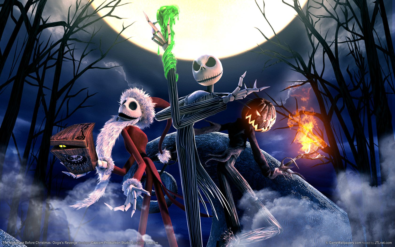nightmare before christmas desktop wallpaper - www.wallpapers-in ...
