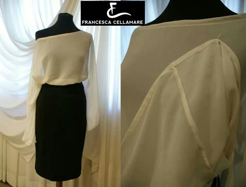 Eleganti camicia in seta in pregiata fattura artigianale. Creazioni Francesca Cellamare