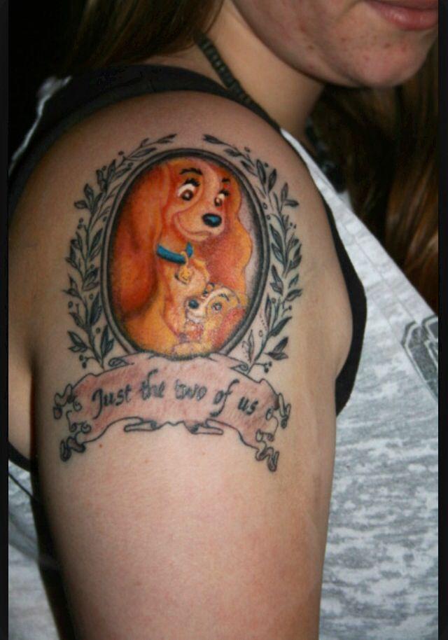 Cute Disney Tattoo Lady And The Tramp Amazing Disney Tattoos