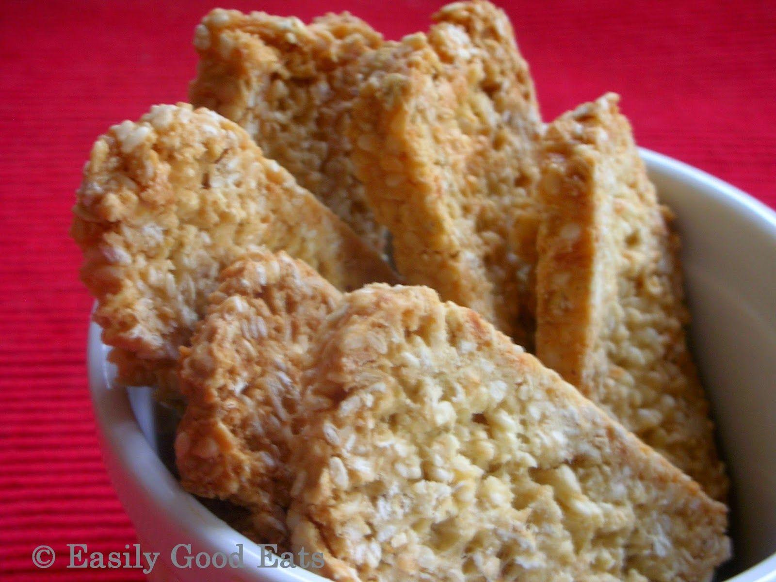 Coconut Sesame Seed Biscotti Recipe