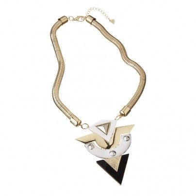 Large Perspex Pendant Necklace