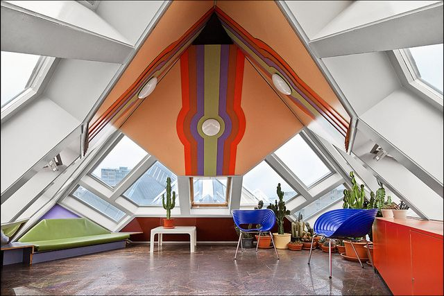 Image result for cube house rotterdam from inside
