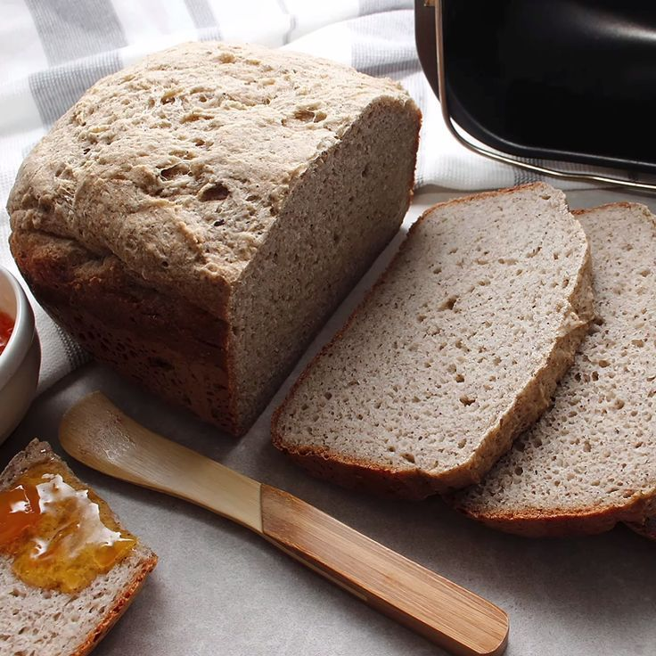 GlutenFree Vegan Bread Machine Loaf (With images