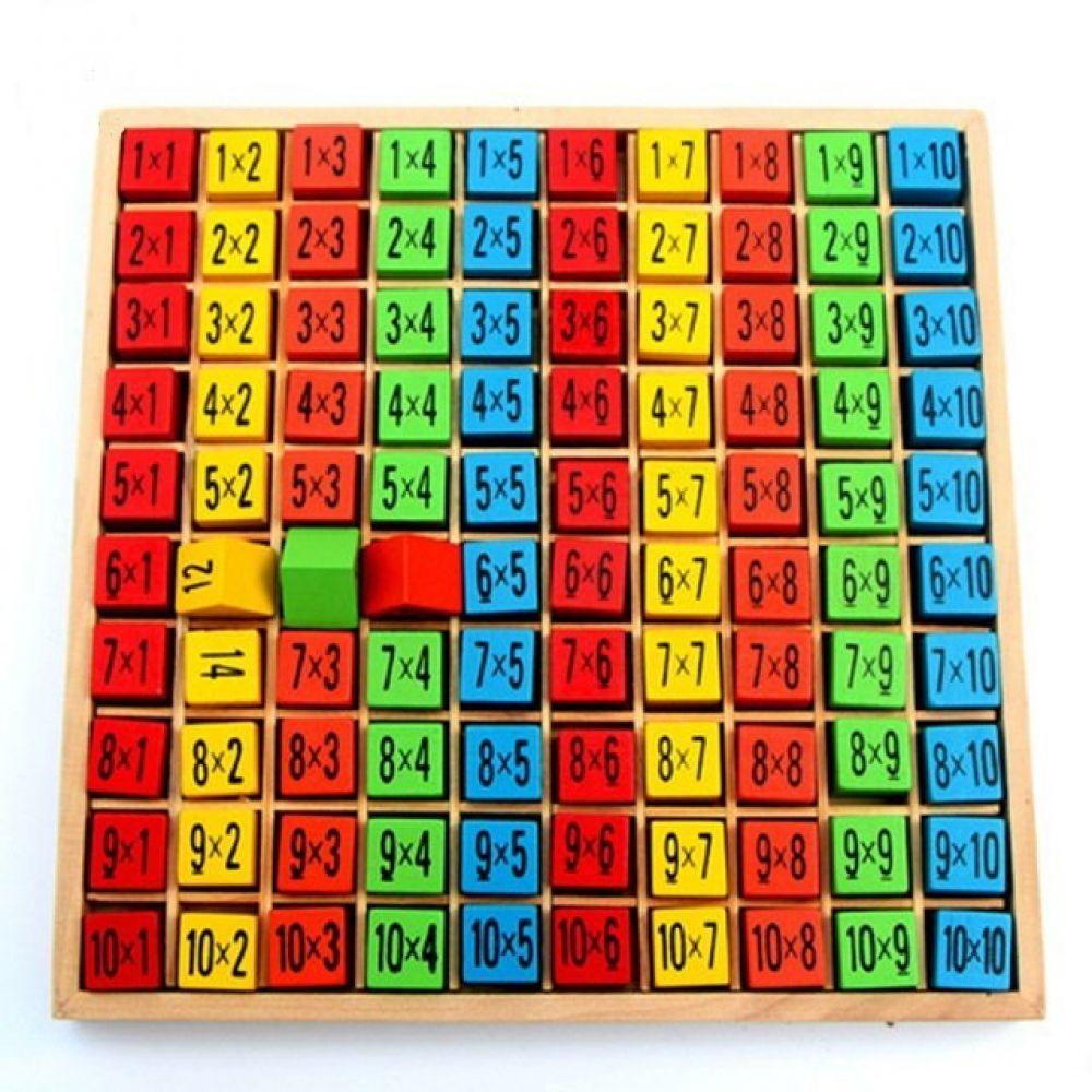 Useful Educational Wood Kid's Multiplication Table  Price: $21.99 & FREE Shipping  #educationaltoyst...