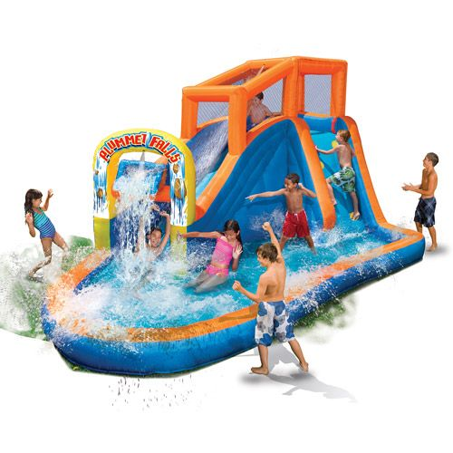 Inflatable Slide Walmart: Your Own Backyard Water Park! This Is Insane.