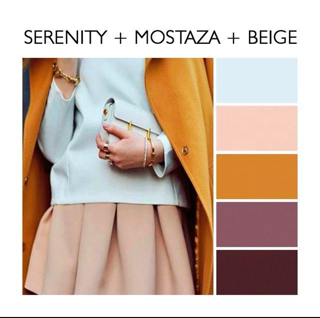 Combinacion Colores Azul Mostaza Y Beige Colour Combinations Fashion Color Combinations For Clothes Color Combinations