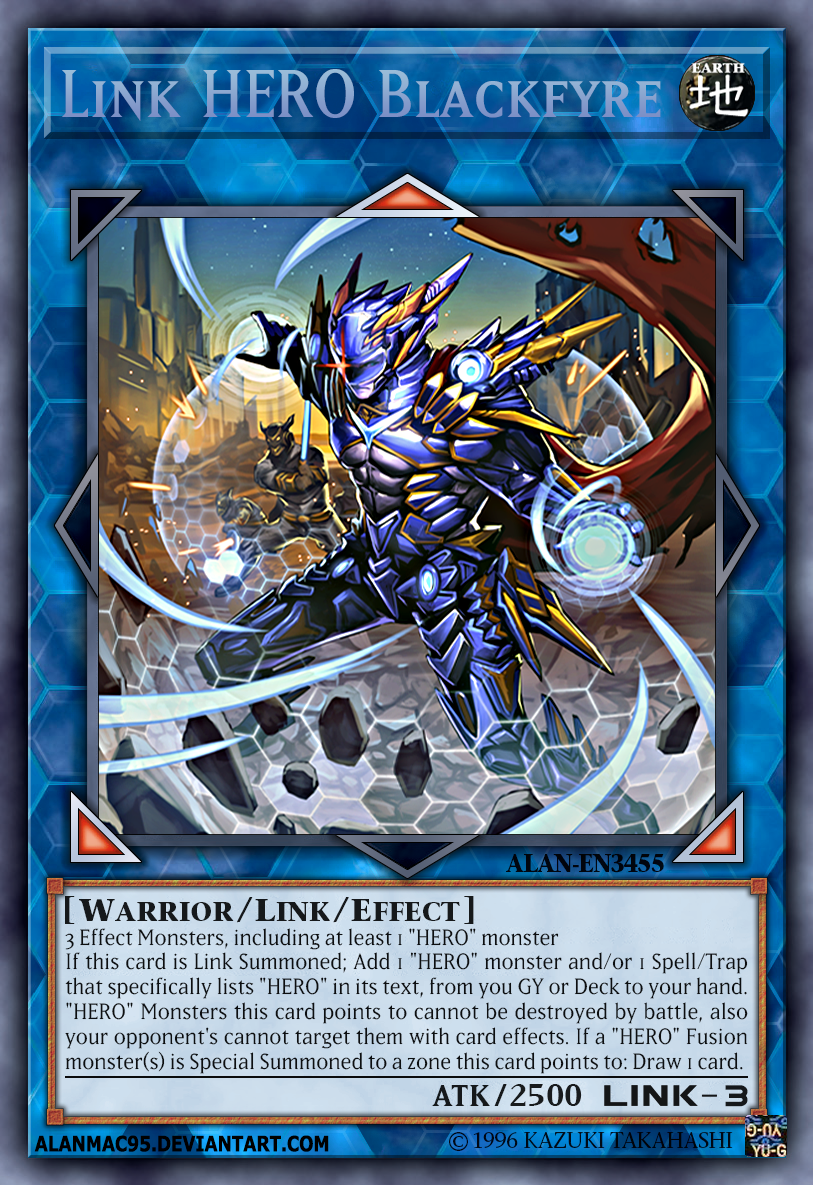 Link Hero Blackfyre By Alanmac95 Dc70fql Png 813 1 185 Piksel Juegos De Cartas Yugioh Cartas