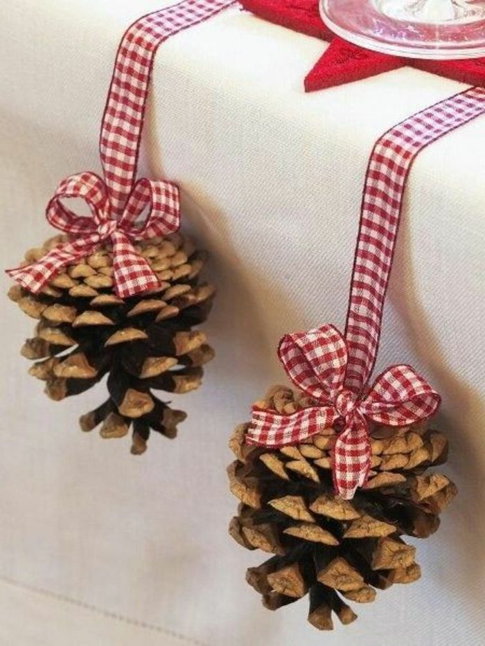 ▷ 1001 + Tischdekoration Ideen + Anleitungen zum Selbermachen #weihnachtlichetischdekoration