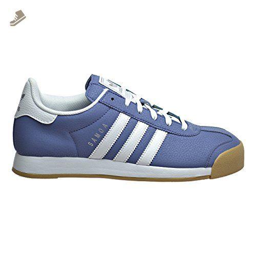 7108f8d232883 Adidas Samoa Women's Shoes Super Purple/White/Silver Metallic bb8985 ...