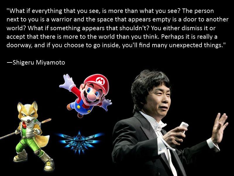 Shigeru Miyamoto. I love this man so much (With images