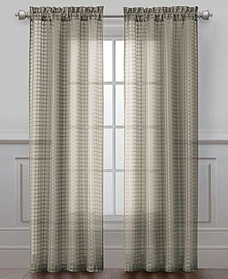 victoria classics window treatments, drake collection - sheer