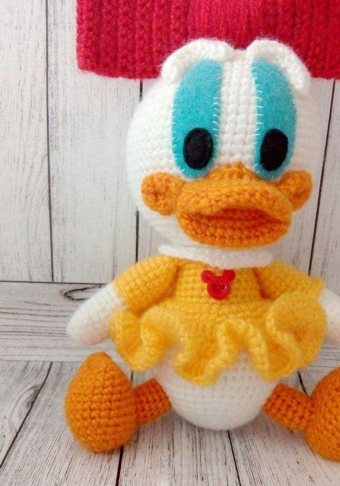 Webby Duck Amigurumi Pattern Crochet Crochet Crochet Patterns