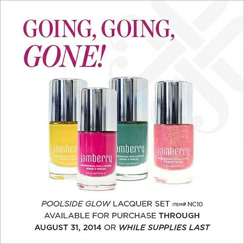 This summertime favorite set won't last long!  Order your today at http://kellimeyrand.jamberrynails.net