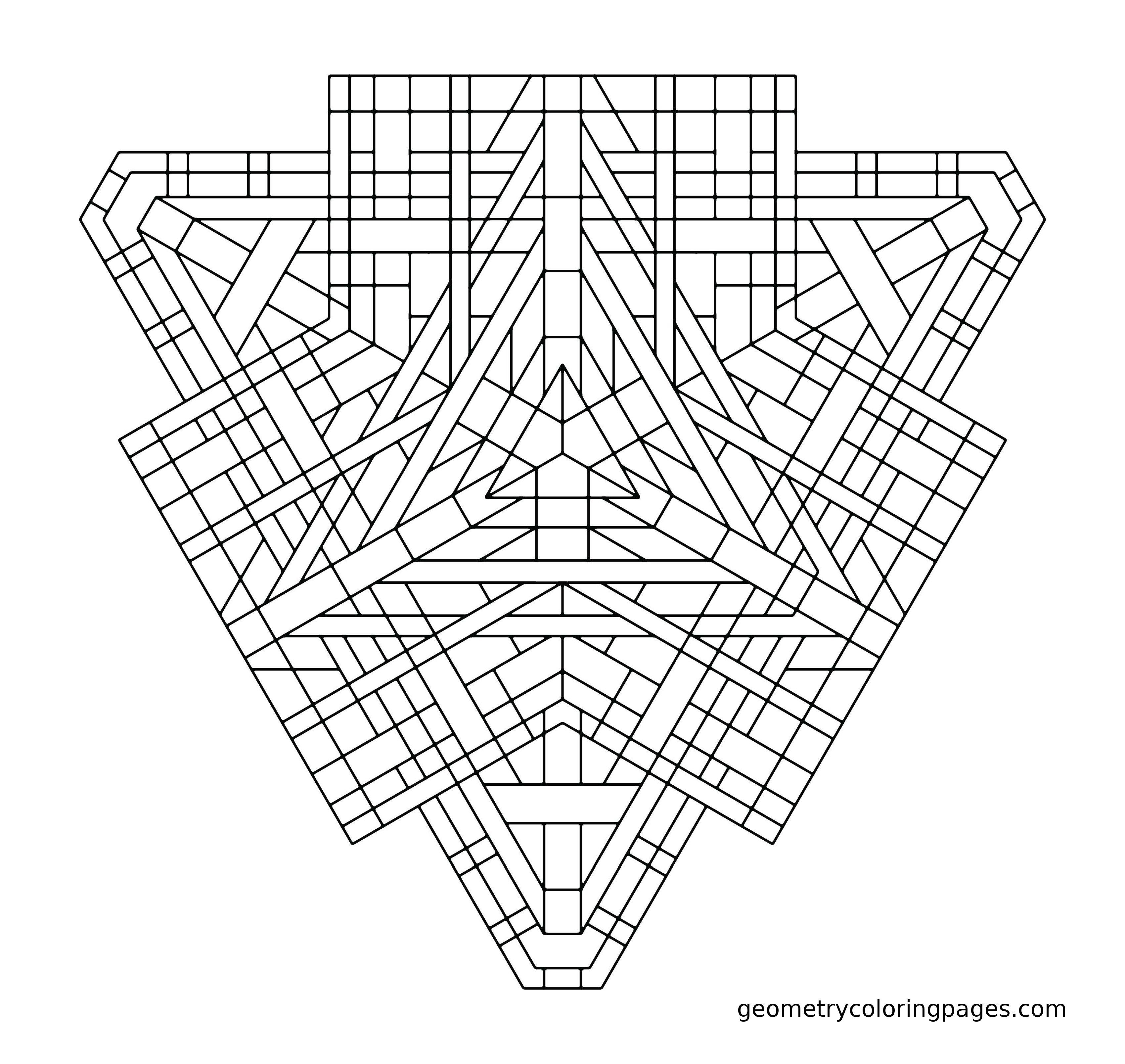 Tri-Angles by James Sterling | Geometria | Pinterest | Mandalas ...