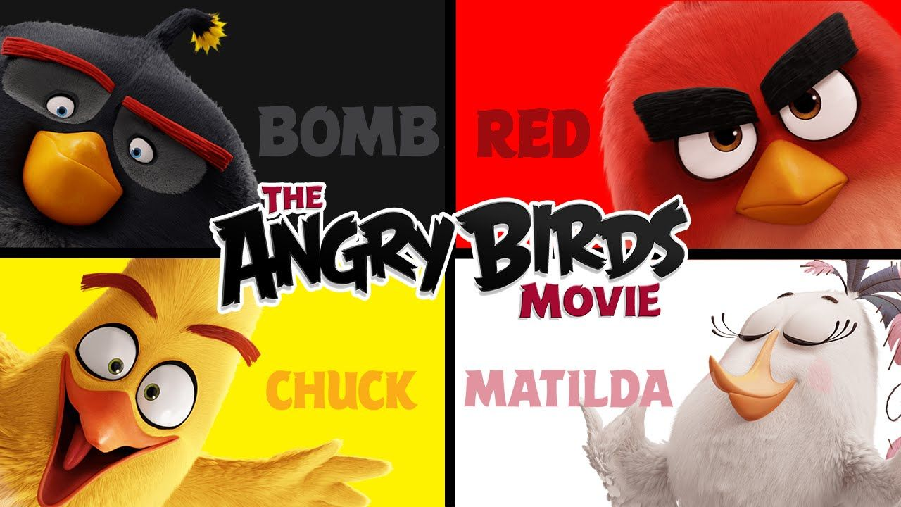 ANGRY BIRDS MOVIE | Matching & Learning Colors #AngryBirdsMovie