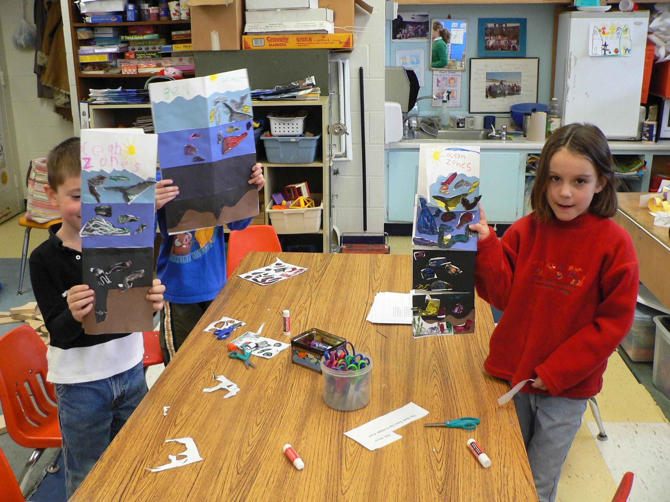 Ocean Zones Science Lesson Like The Craft Idea But Need